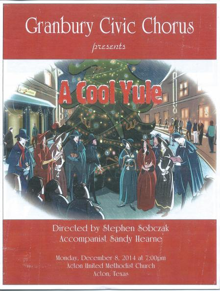 2014 Christmas concert cover